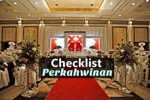 6 CHECKLIST PERKAHWINAN-Women Online Magazine
