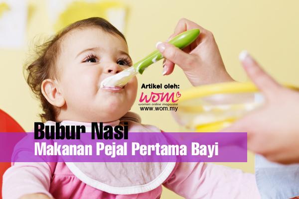 Bubur Nasi Bayi - women online magazine