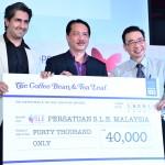 The Coffee Bean & Tea Leaf Derma RM40,000 Kepada Persatuan Systemic Lupus Erythematosus Malaysia
