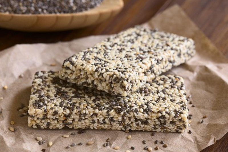 Granola Biscuit Bar Chia Seed - Women Oneline Magazine