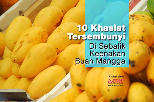 Khasiat Buah Mangga - WOMEN ONLINE MAGAZINE