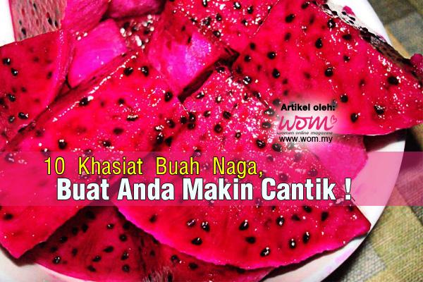 Khasiat Buah Naga Merah - women online magazine
