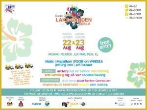 Kuala Lumpur Lake Garden Festival - woman online magazine