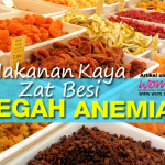 Makanan Kaya Zat Besi Cegah Anemia