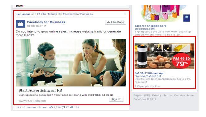 Pengiklanan Facebook- Women Online Magazine