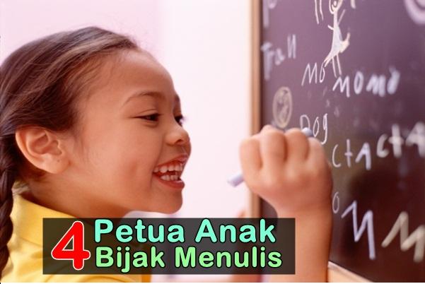 Petua Anak Bijak Menulis-women online magazine