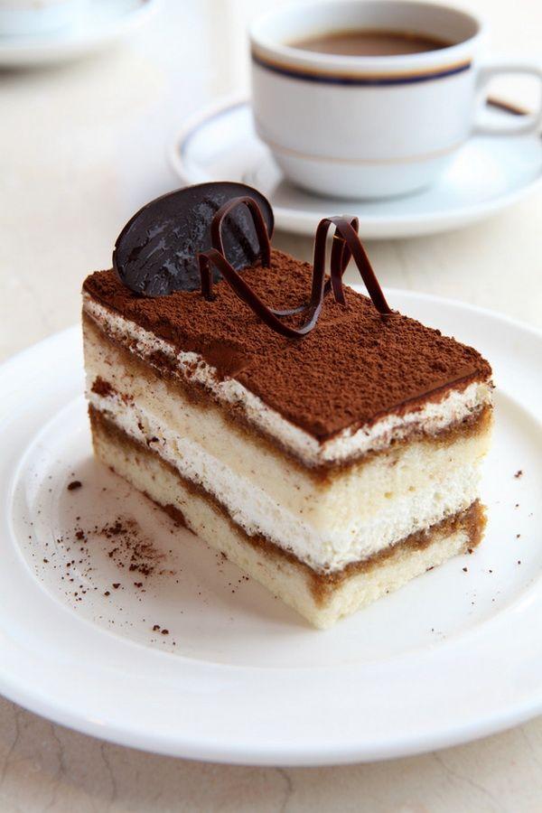 Caramel Tiramisu Cake My Cafe