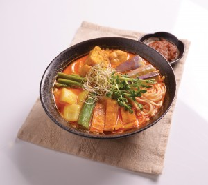 Soy Milk Curry Laksa