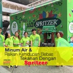Minum Air & Raikan Kehidupan Bebas Tekanan Dengan Spritzer