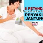 8 Tanda-Tanda Penyakit Jantung