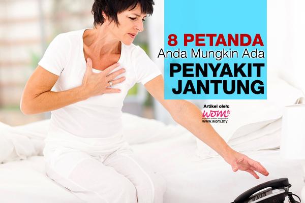 Tanda-tanda penyakit jantung - women online magazine