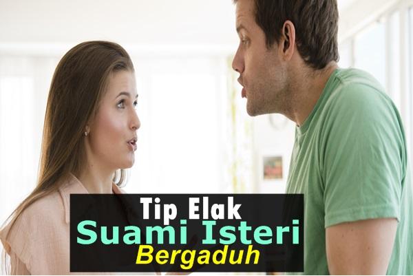 Tip Elak Suami Isteri Bergaduh-Women Online Magazine