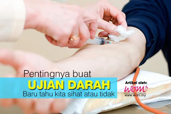 Ujian Darah - women online magazine