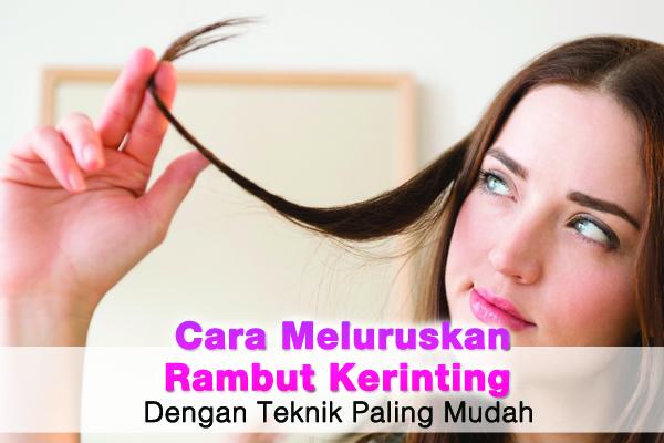 cara meluruskan rambut keriting - women online magazine