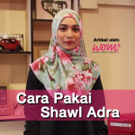 Jom Tiru! Cara Pakai Shawl Simple  (Video)