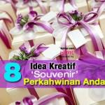 8 Idea Kreatif 'Souvenir' Perkahwinan Anda