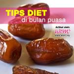 Diet Bulan Puasa; Segar Bertenaga