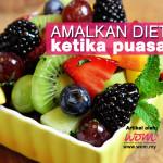 8 Cara Diet Ketika Puasa