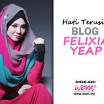 Hati Terusik Ketika Menjenguk  Felixia Yeap Blog