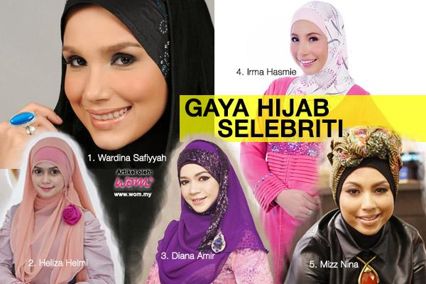 gaya hijab selebriti - women online magazine