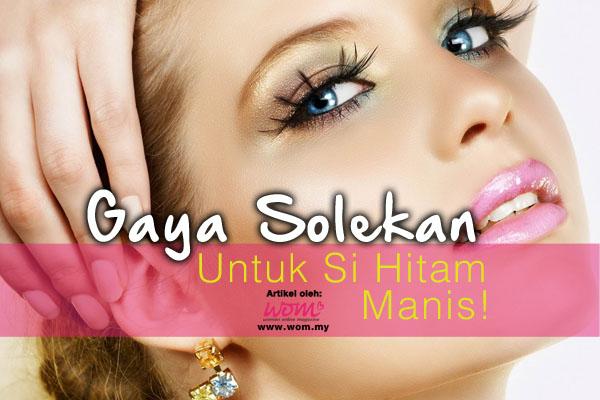 gaya solekan - women online magazine