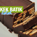 Resepi Kek Batik Leleh