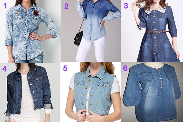 kemeja jeans wanita - women online magazine (1)
