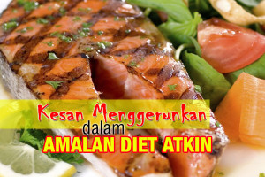 kesan menggerunkan dalam amalan diet atkin - women online magazine