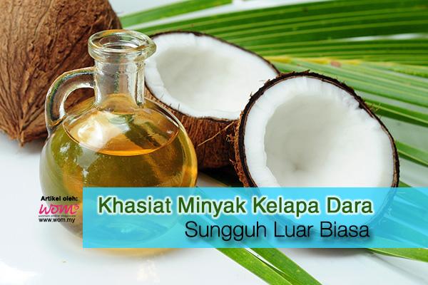 khasiat minyak kelapa dara - women online magazine