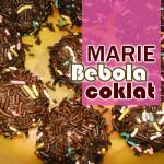 Resepi Biskut Marie Bebola Coklat