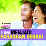 8 Ciri Anda & Si Dia,Pasangan Serasi