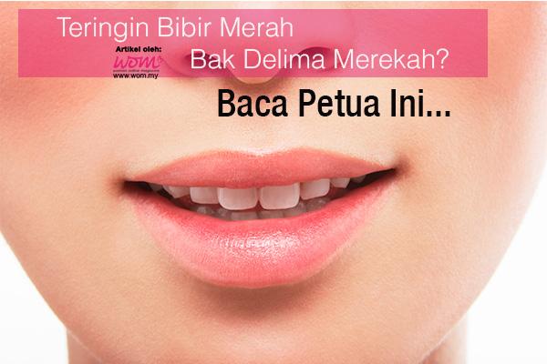 petua bibir merah - women online magazine