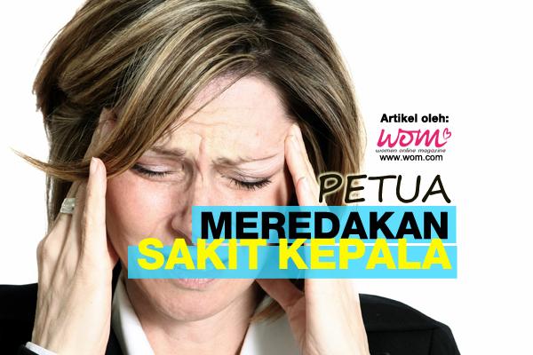 petua meredakan sakit kepala - women online magazine-2