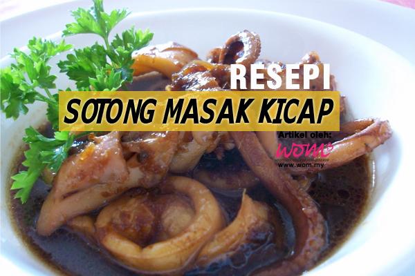 Resepi Sotong Masak Kicap Women Online Magazine