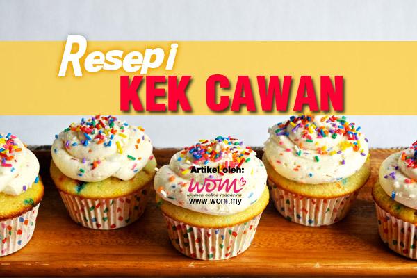 resepi kek cawan - women online magazine