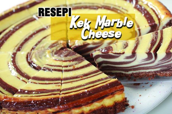 resepi kek marble cheese - women online magazine