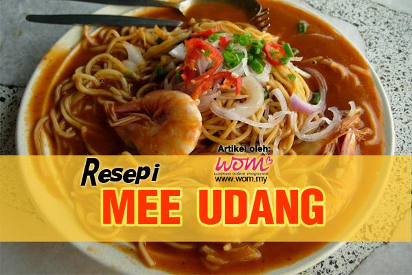 resepi mee udang - women online magazine