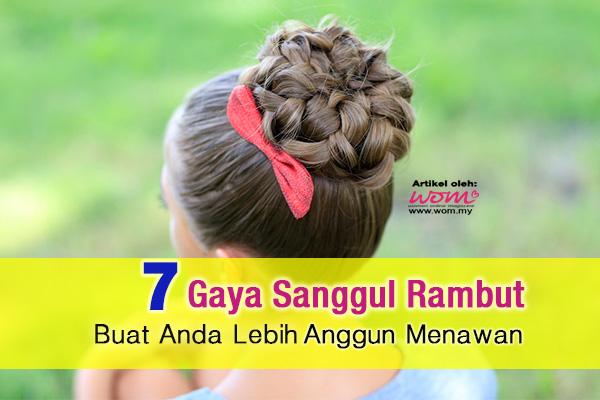 sanggul rambut - women online magazine
