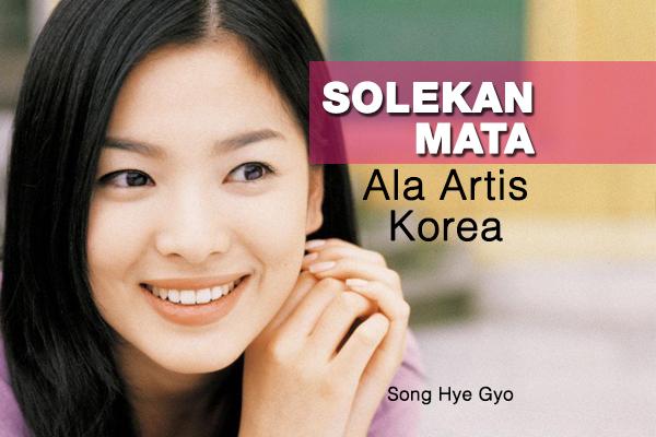 solekan mata ala artis korea - women online magazine