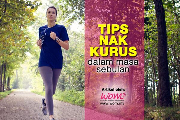 tips nak kurus - women online magazine