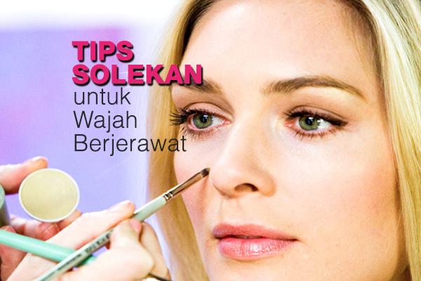 tips solekan untuk wajah berjerawat - women online magazine