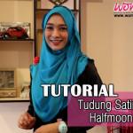 Video Cara Pakai Tudung Halfmoon Yang Simple & Senang