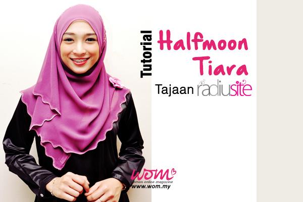 tutorial halfmoon tiara - women online magazine