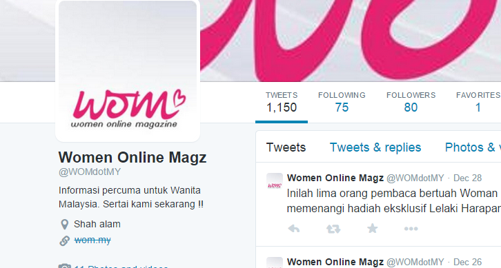 twitter women online magazine