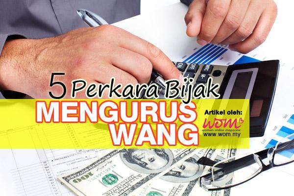 5 langkah bijak mengurus wang - women online magazine