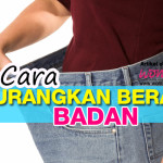 Cara Kurangkan Berat Badan Lepas Kahwin