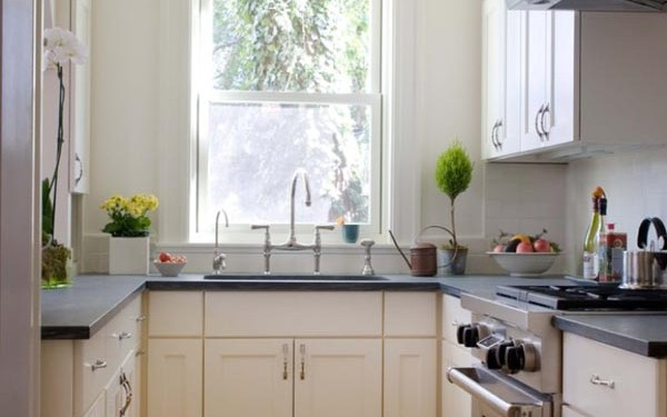 Dekorasi dapur sempit - woman online magazine