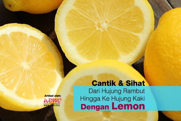 Kebaikan Lemon - women online magazine