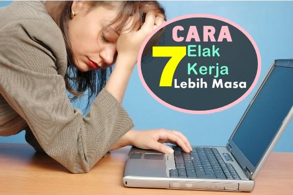 Kerja Lebih Masa-women online magazine