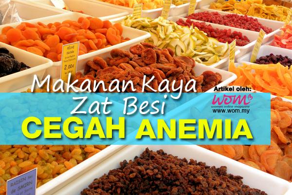 Makanan Zat Besi - women online magazine